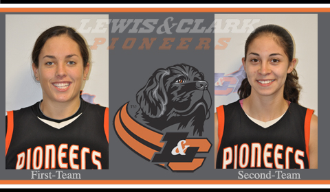 Three Pioneers Earn All-Conference Honors