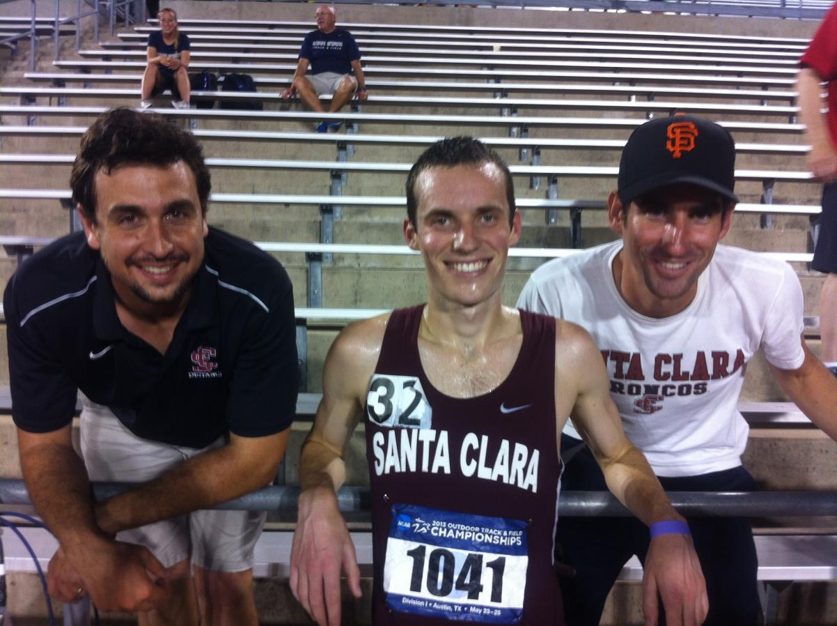 Oliver Finishes 17th At NCAA West Region Track Championships
