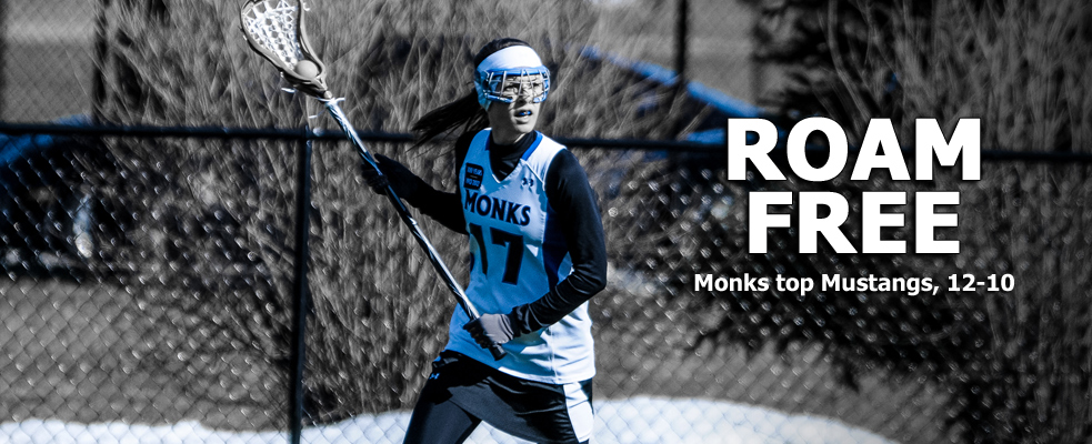 Monks Hold Off Mustangs, 12-10