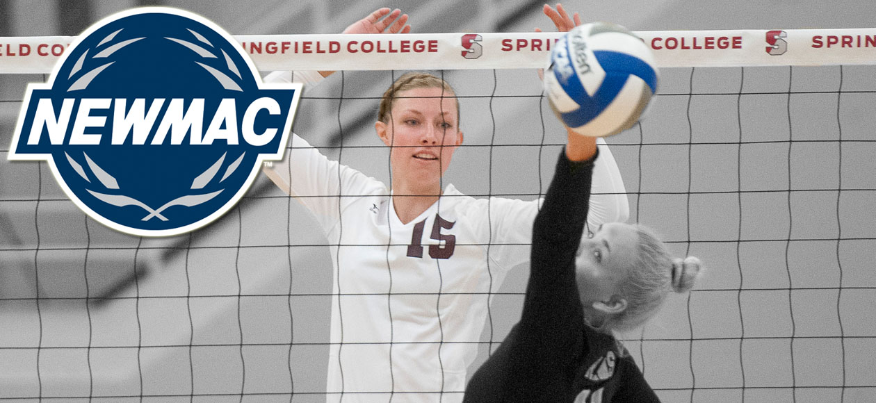 Holt Selected as NEWMAC Women's Volleyball Defensive Athlete of the Week