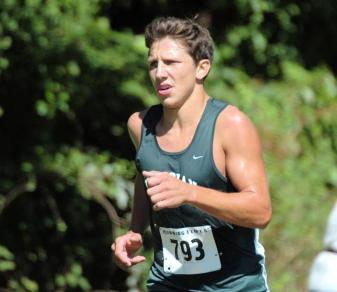 Taylor Trumbetti won the Jack St. Clair Memorial Cross-Country Invitational on Oct. 6, 2012.