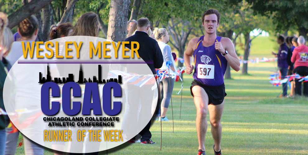 Photo for Meyer earns second CCAC Runner of the Week honor of the season