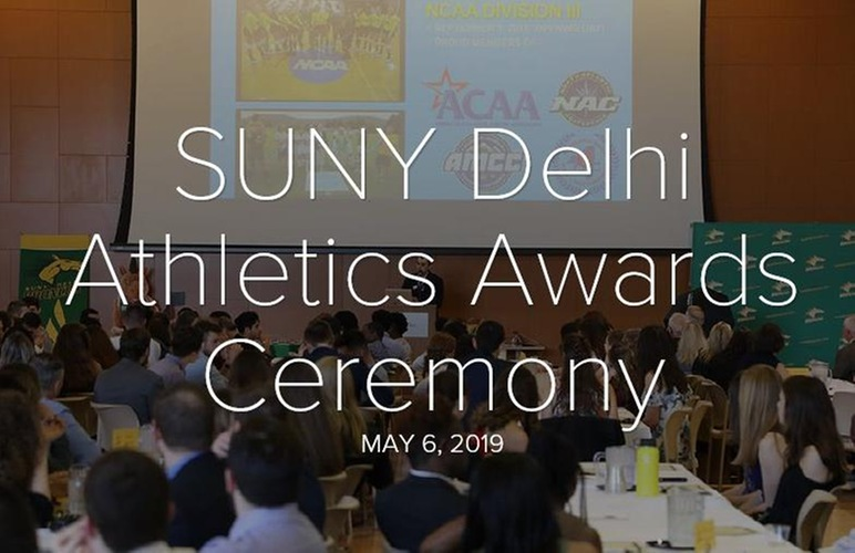 SUNY Delhi Holds Annual Athletics Awards Banquet