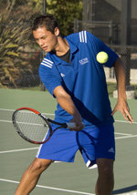 UC Irvine Nips UCSB in Big West Tennis Showdown, 4-3