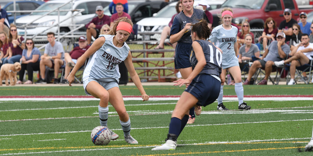 Second Half Flurry Helps Evangel Women's Soccer to 3-0 Shutout vs Mt Mercy