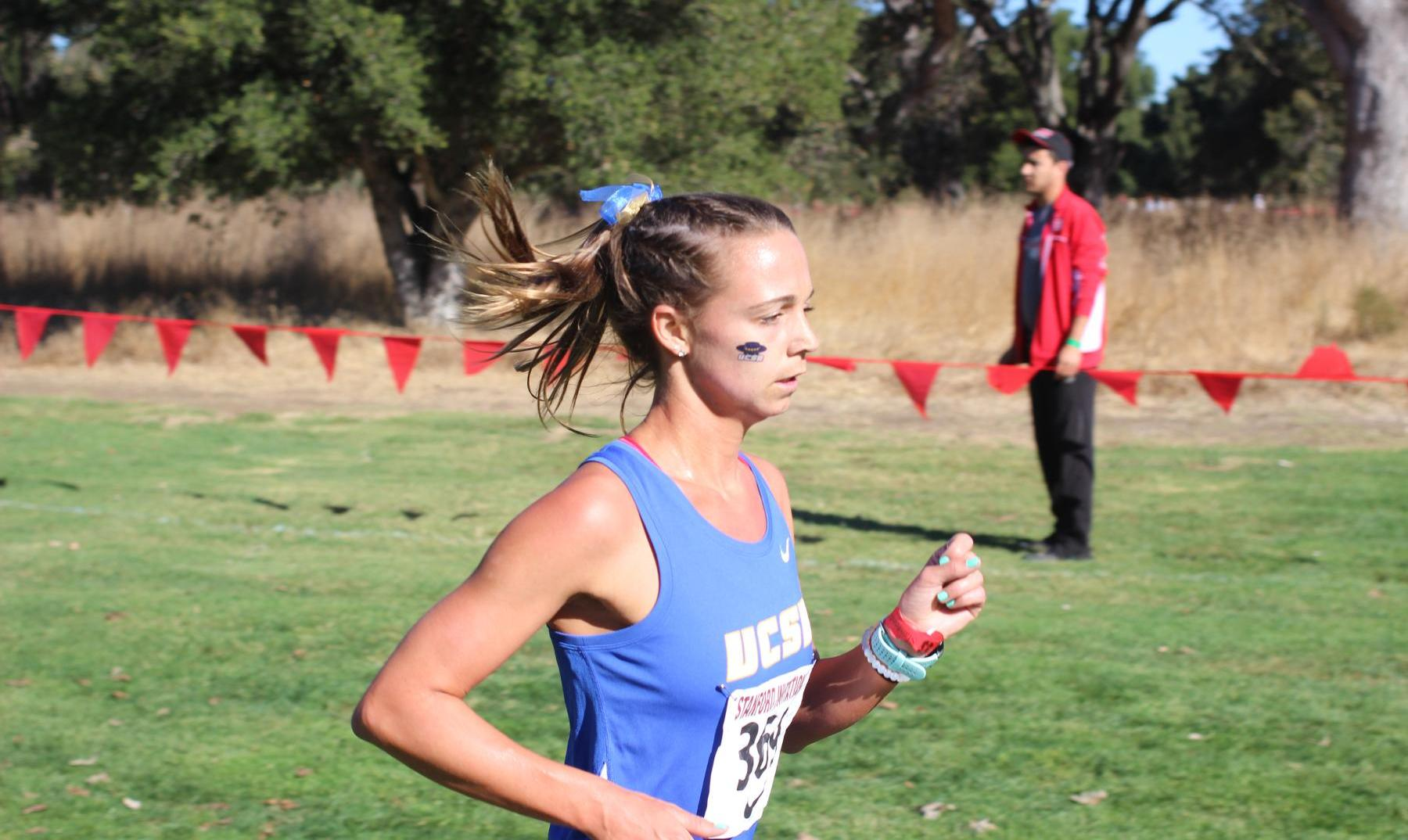 Top 3 Finishes for Gaucho Cross Country