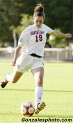 Candau Leads Women's Soccer to Victory