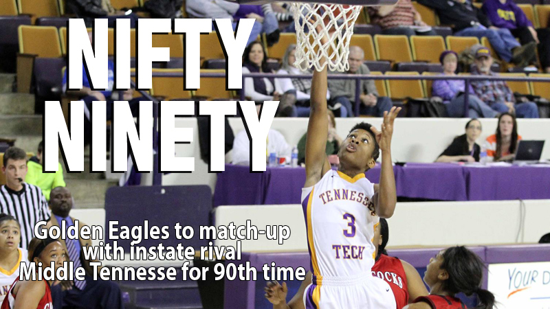 The Golden Eagles head to Murfreesboro to face long-time rival Blue Raiders