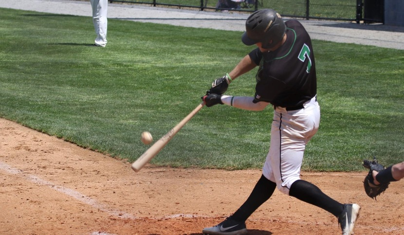 Copyright 2018; Wilmington University. All rights reserved. File photo of Kendall Small who batted 3-for-5 and 2-for-3 at Felician on Friday. Photo  by Frank Stallworth. April 26, 2018 vs. Jefferson