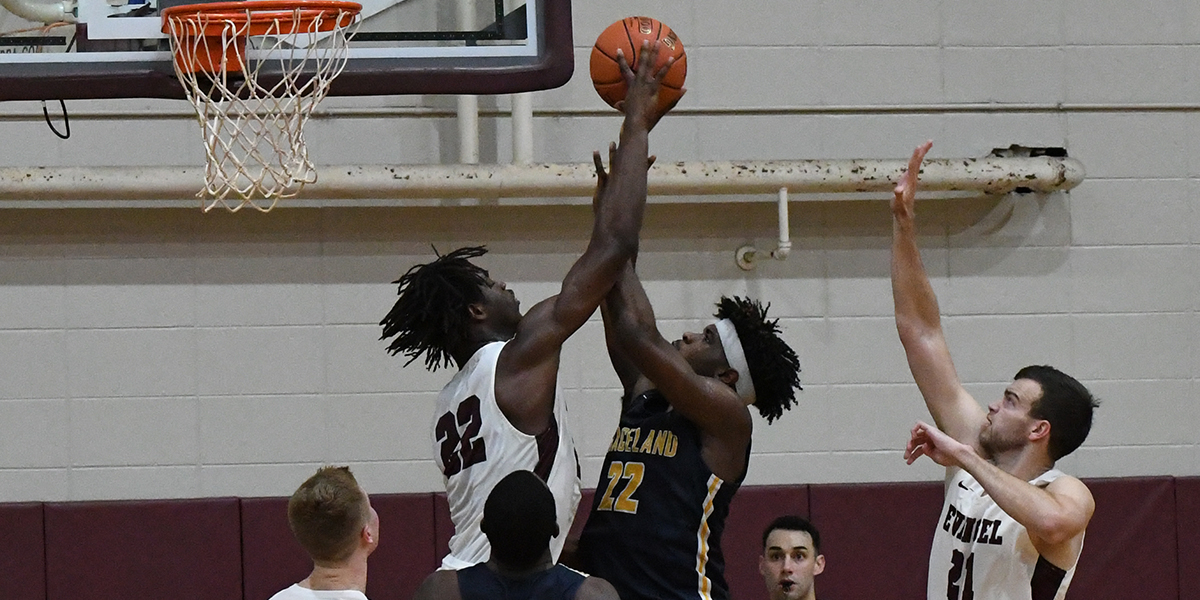 Big Blocks Help Evangel Men Turnback Graceland 90-75