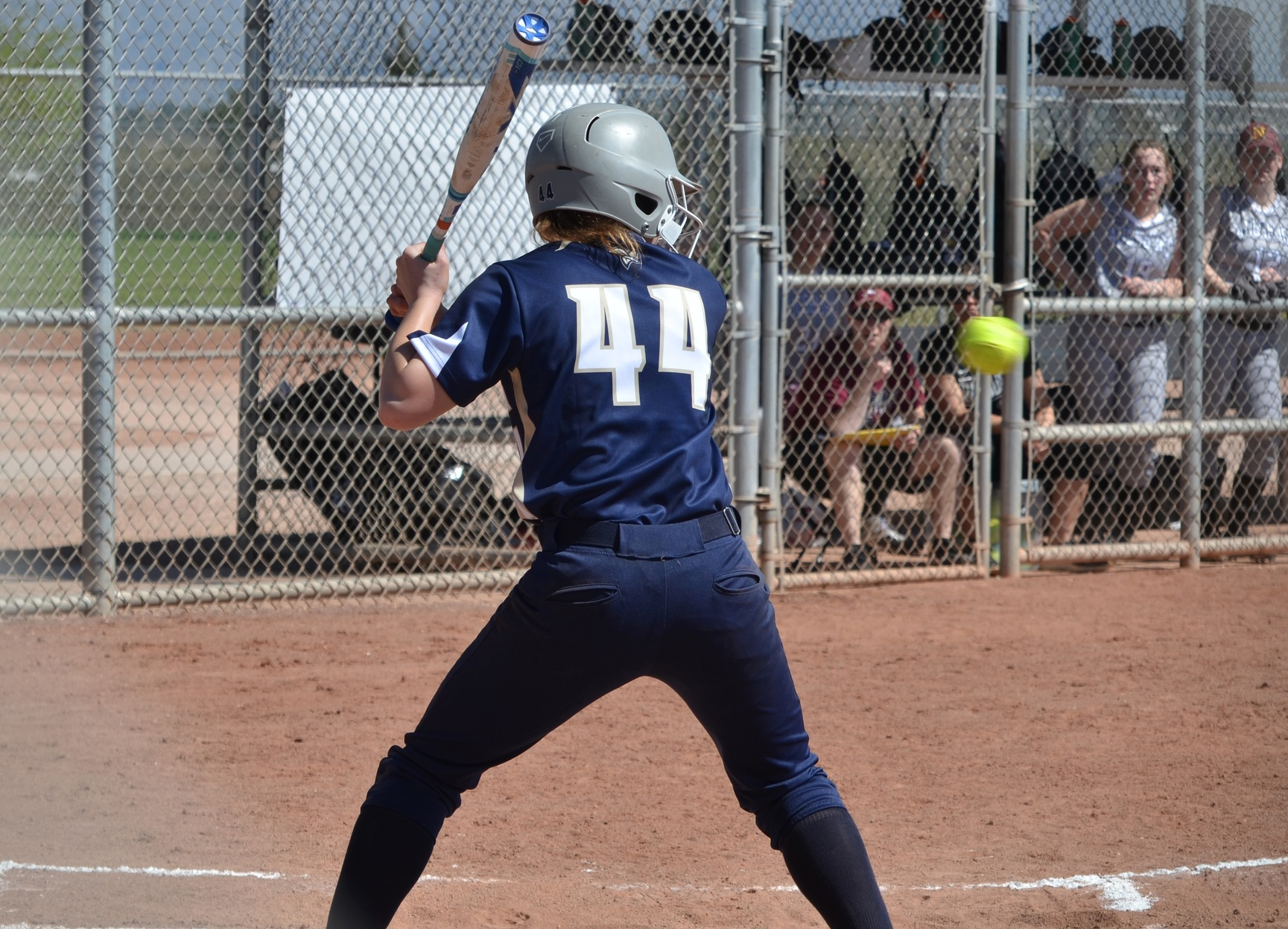 Softball Sweeps Simmons in GNAC Twin Bill