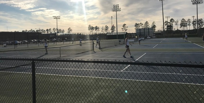 Girls and Boys Tennis Team Fall to Brantley