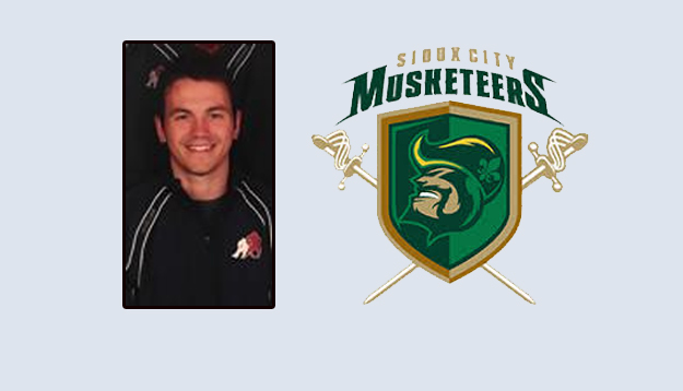 Taylor G. Ward named assistant coach for Sioux City Muskateers