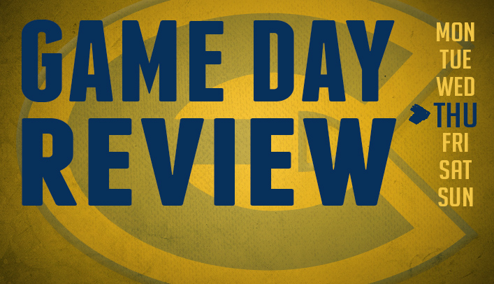 Game Day Review - Thursday, February 20, 2014