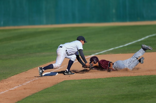 3B Jorge Rodriguez reached base three times for the Falcons against Mt. SAC