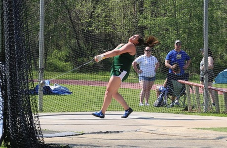 Dioses Wins Hammer, Panek Third in Heptathlon After Four Events at ECAC's