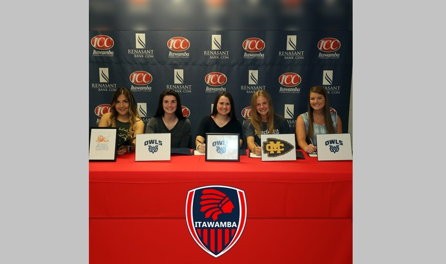 ICC Women's Soccer sends five to the next level