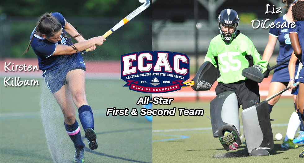 #13 Field Hockey Lands Two on ECAC All-Star Teams