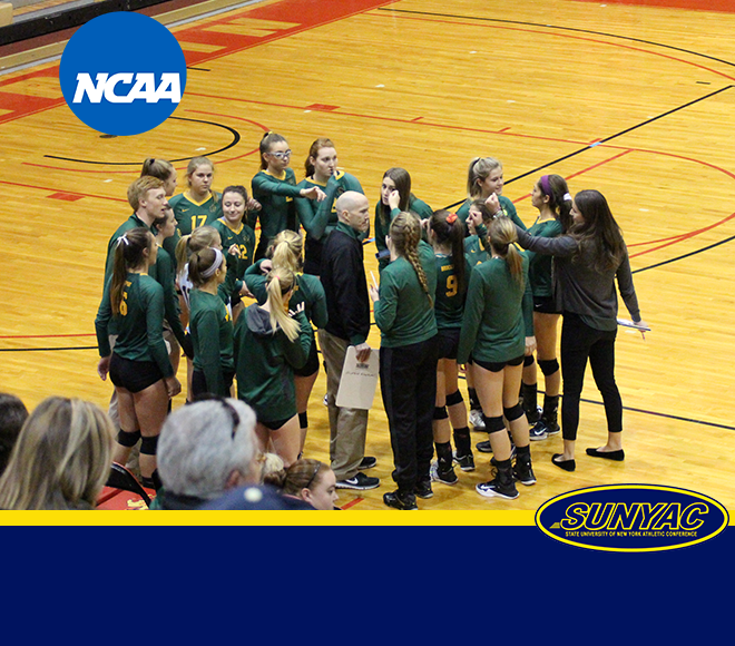 Brockport volleyball falls to Juniata in NCAA First Round