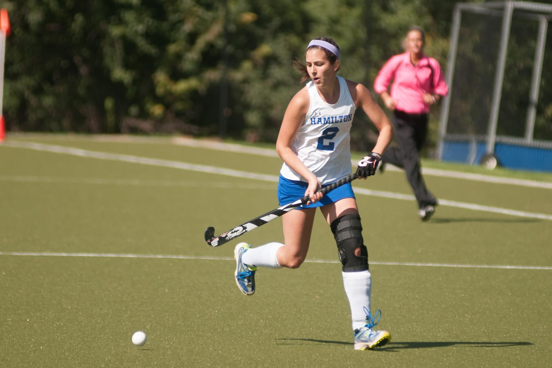 Field hockey tops Knights in night game