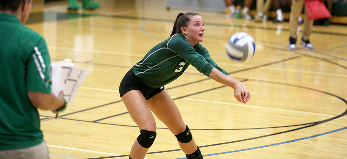 Sage falls on the road to Wildcats in Women's Volleyball