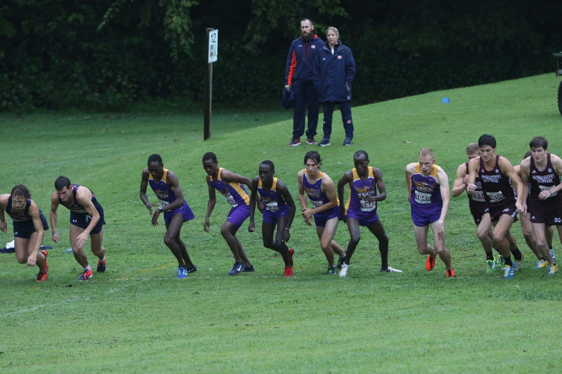 There's no place like home: Tech cross country to open season with Golden Eagle Invitational