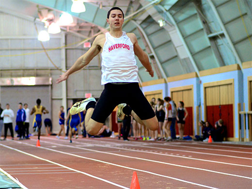 Ainsley assumes lead in heptathlon after Day 1 at Widener