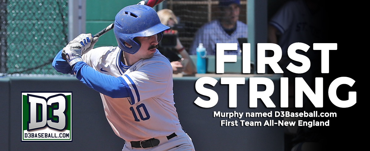 Murphy Named D3Baseball.com First Team All-New England