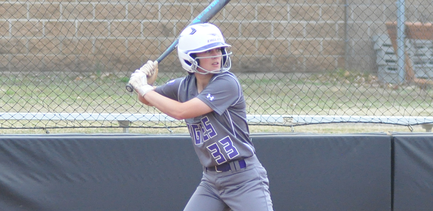 The Eagles dropped both games of a DH against Mary Hardin-Baylor.