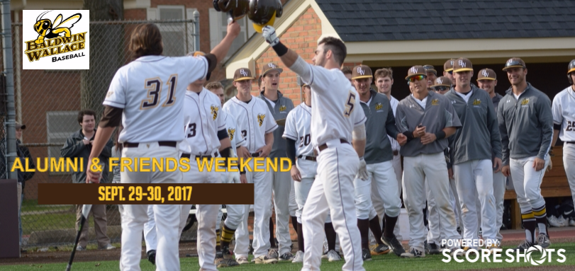 Baseball to Hold Annual Alumni, Friends and Parents Weekend