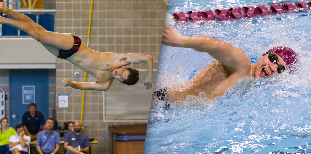 Trinity's Hurrell-Zitelman, MacAskill Named SCAC Male Swimmer and Diver of the Year