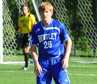 Zeiner Scores a Pair as Bentley Edges New Haven, 2-1, in NE-10 Opener