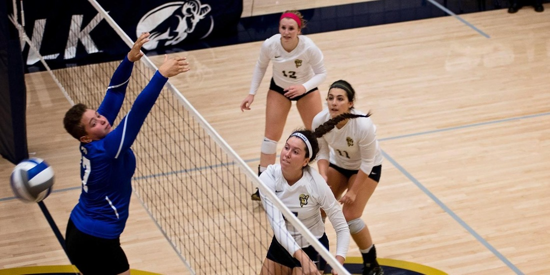 Volleyball Downs Mass. Maritime, 3-1, in Season Opener
