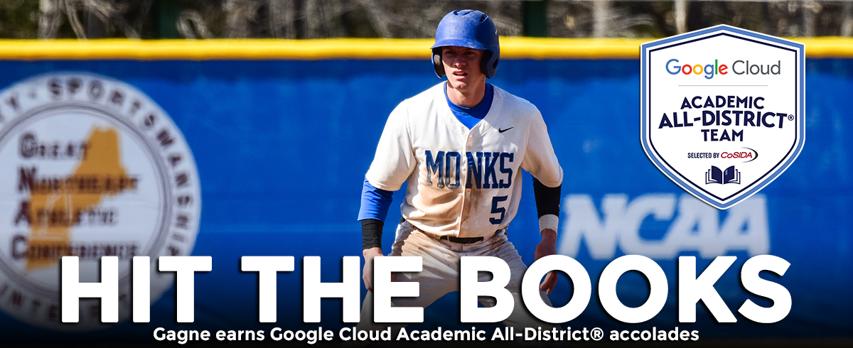 Gagne Earns Google Cloud Academic All-District® Team Honors