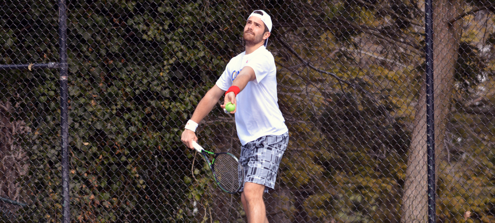 Concordia Men's Tennis Tops Reigning CACC Champions, Chestnut Hill, 7-2
