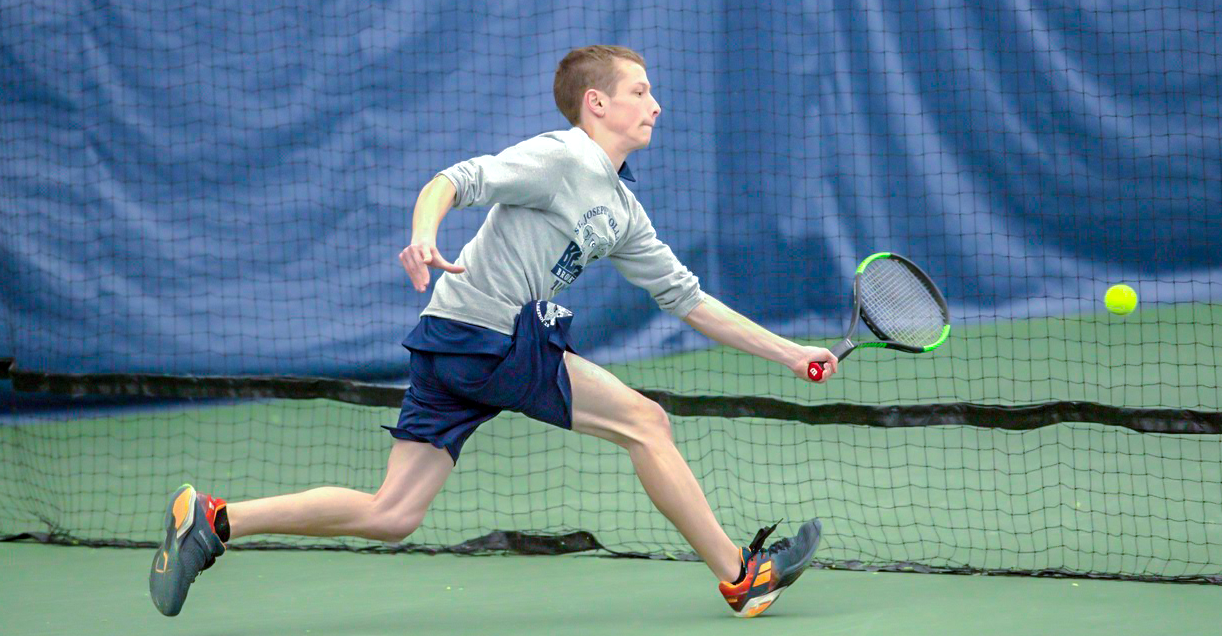 Men's Tennis Downed by Farmingdale State