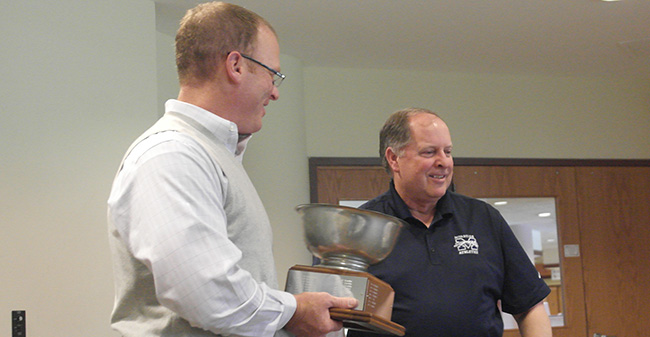 Matte Award Back at Moravian for First Time in 11 Years