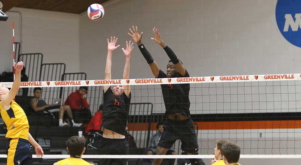 Men's volleyball suffers loss