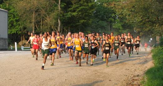Hornet men place second at Mayflower Kickoff