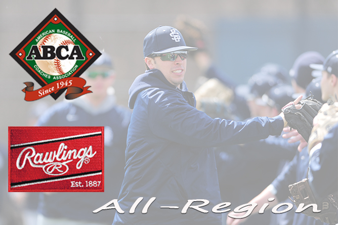 Sada, Myers Chosen to ABCA/Rawlings All-Mideast Region Team