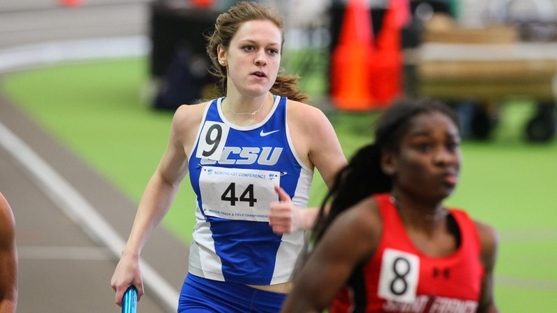 Women's Track Competes in Colonial Relays
