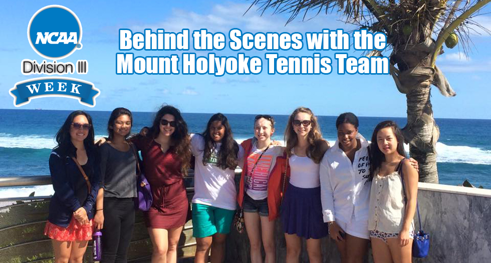 Behind the Scenes with the Mount Holyoke Tennis Team