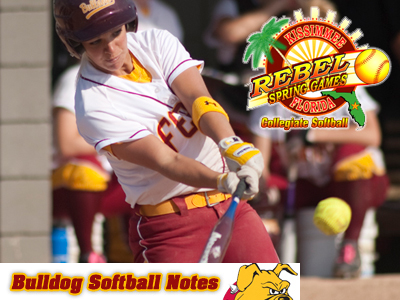 Softball To Start 2011 Season At Florida Rebel Spring Games Tournament