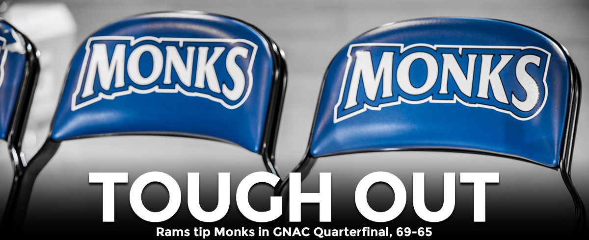 Rams Clip Monks in GNAC Quarterfinal, 69-65