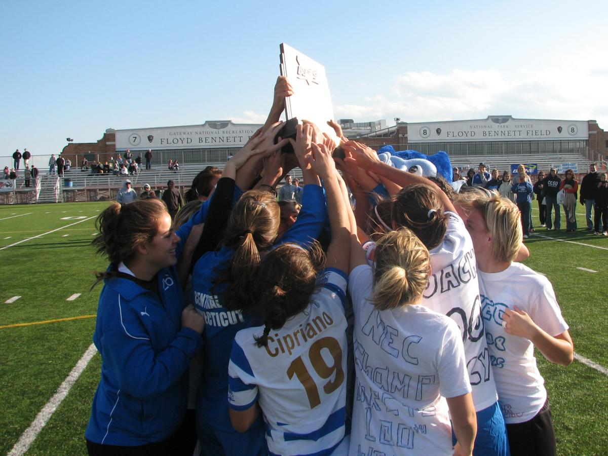 CCSU Women's Soccer Wins Seventh Northeast Conference Championship, Defeats Long Island 1-0