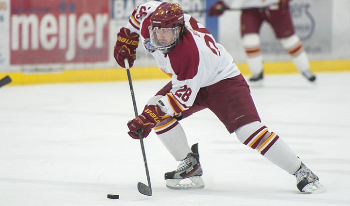 Third Bulldog Hockey Senior In Kyle Bonis Makes Pro Debut After Inking AHL Contract