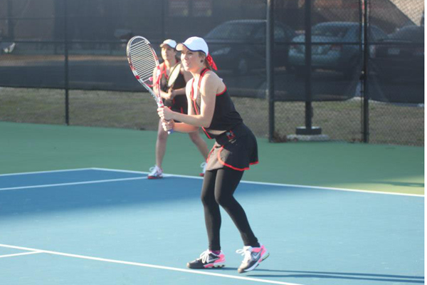Huntingdon women's tennis improves to 5-0