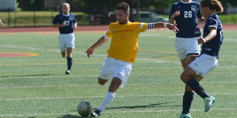 Men's soccer opens IIAC play with OT win at Wartburg