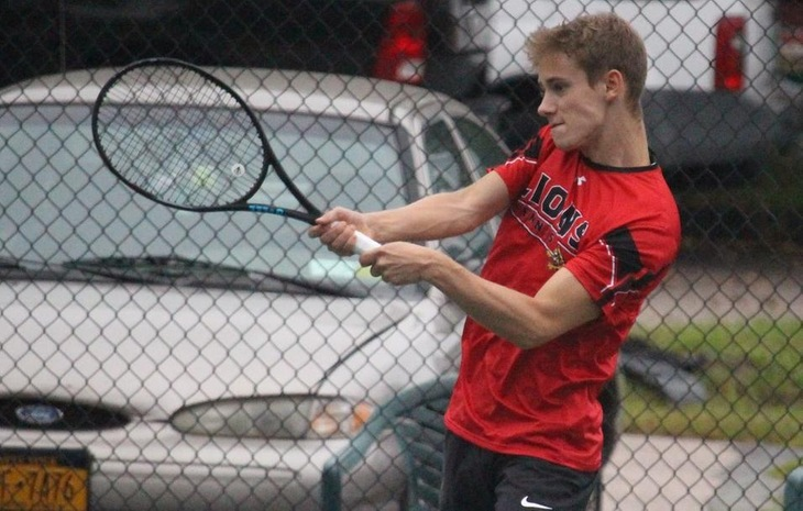Men's Tennis Rallies Past Ohio Northern, Falls to Spring Arbor