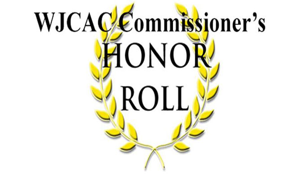WJCAC Honor Roll